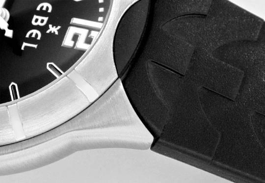 Foto 4, Ebel E Type Senior Uhr Etype Stahl Kautschuk Ungetragen, U1687