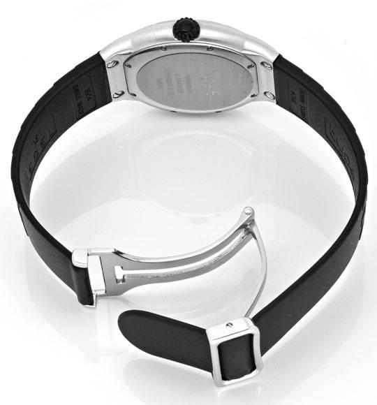 Foto 5, Ebel E Type Senior Uhr Etype Stahl Kautschuk Ungetragen, U1687