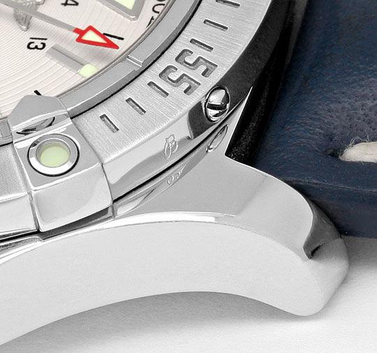 Foto 4, Breitling Colt Chronometer Edelstahl, Lederband, Herren, U1697