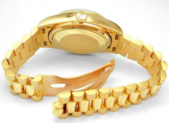Foto 2, Original Hr Rolex Daydate Gold Geprüft Neuw.! Portofrei, U1743