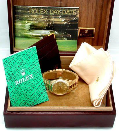 Foto 3, Original Hr Rolex Daydate Gold Geprüft Neuw.! Portofrei, U1743