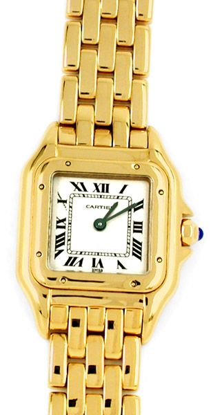 Foto 1, Original Da Cartier Panthere Gold Topuhr Neuw Portofrei, U1746