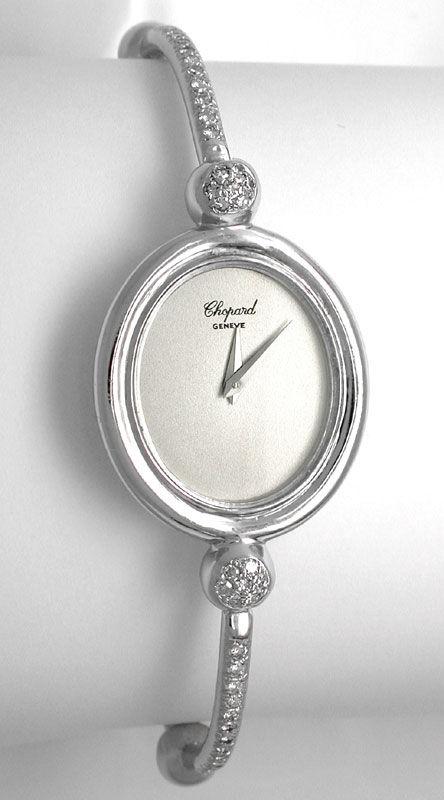 Foto 2, Original Da Chopard Diamanten Weissgold Shop! Portofrei, U1749