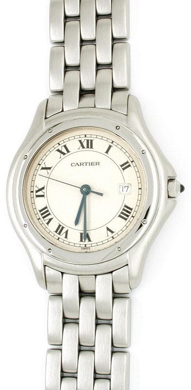 Foto 1, Orig. Hr Cartier Cougar/Panthere Shop! F.Neu! Portofrei, U1757