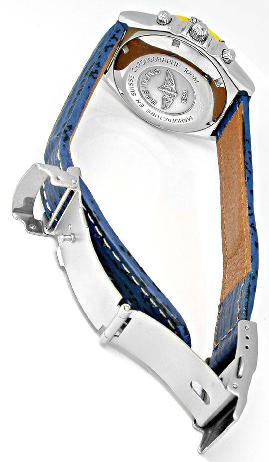 Foto 3, Orig. Breitling Chronomat Goldlün.Shop! Neuz. Portofrei, U1776