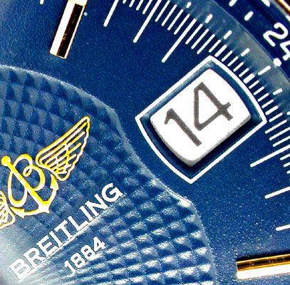 Foto 5, Orig. Breitling Chronomat Goldlün.Shop! Neuz. Portofrei, U1776