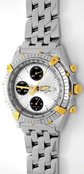 Foto 1, Breitling Chronomat Pilot St/G Shop! Neuzust. Portofrei, U1781