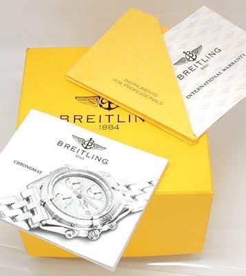Foto 4, Breitling Chronomat Pilot St/G Shop! Neuzust. Portofrei, U1781