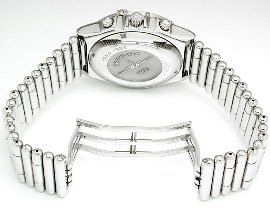 Foto 2, Orig.Hr Breitling Chronomat, St Band Neuzust. Portofrei, U1785
