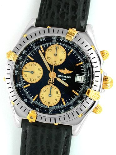 Foto 1, Orig. Breitling Chronomat St/G Shop! Neuzust. Portofrei, U1790