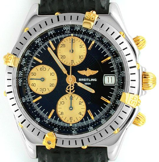 Foto 2, Orig. Breitling Chronomat St/G Shop! Neuzust. Portofrei, U1790