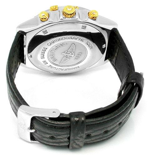Foto 4, Orig. Breitling Chronomat St/G Shop! Neuzust. Portofrei, U1790