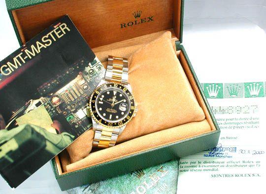 Foto 3, Original Rolex GMT Master II St/G Neuzustand! Portofrei, U1792
