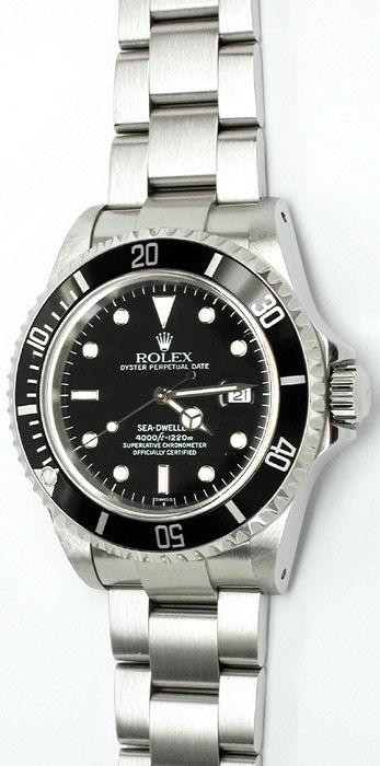 Foto 1, Original Rolex Seadweller Oyster Edelstahl, Neuzustand!, U1793