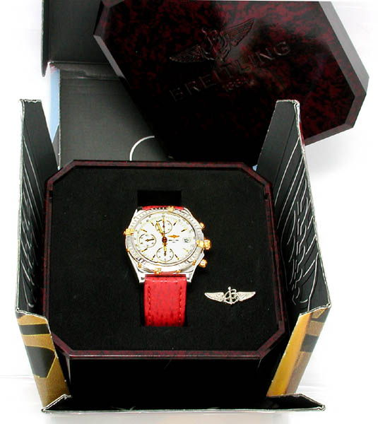 Foto 3, Hr Breitling Chronomat St/G Shop! Neuzustand! Portofrei, U1798