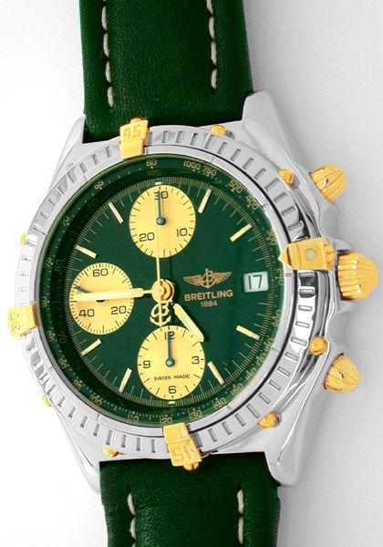 Foto 1, Breitling Chronomat STG, Leder Armband Herren Uhr Shop!, U1800