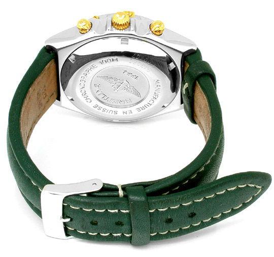Foto 2, Breitling Chronomat STG, Leder Armband Herren Uhr Shop!, U1800