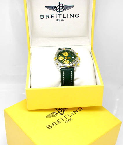 Foto 3, Breitling Chronomat STG, Leder Armband Herren Uhr Shop!, U1800