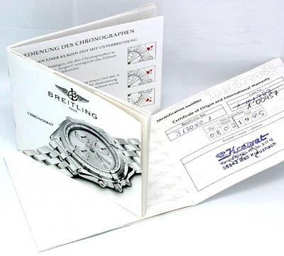 Foto 4, Breitling Chronomat STG, Leder Armband Herren Uhr Shop!, U1800