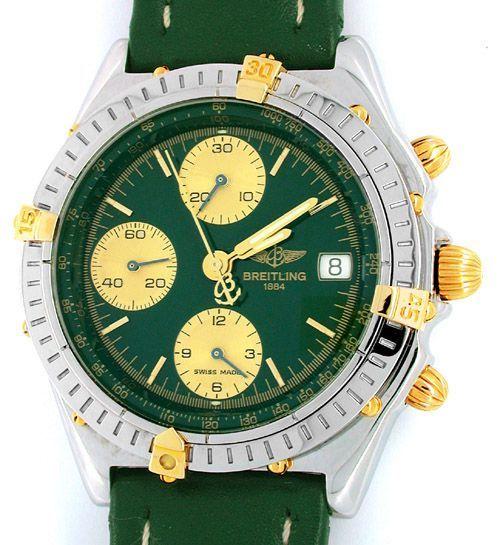 Foto 1, Orig.Hr Breitling Chronomat St/G Shop! Neuz.! Portofrei, U1804