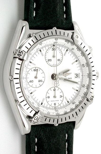 Foto 1, Hr Breitling Chronomat ST Shop! Fast Neuzust. Portofrei, U1806