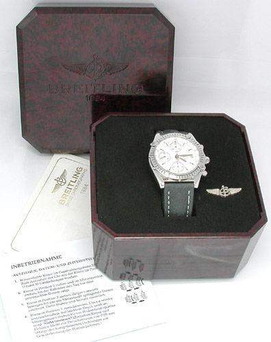 Foto 4, Hr Breitling Chronomat ST Shop! Fast Neuzust. Portofrei, U1806
