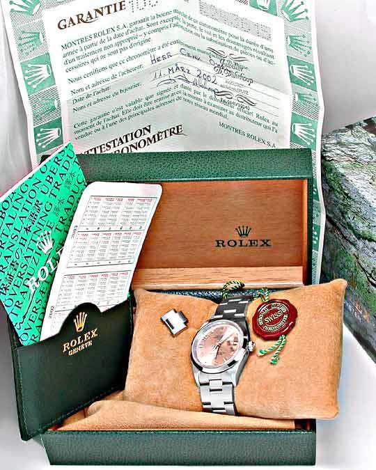 Foto 4, Ungetragen Hr Rolex ST Oyster Traumziff.Shop! Portofrei, U1807