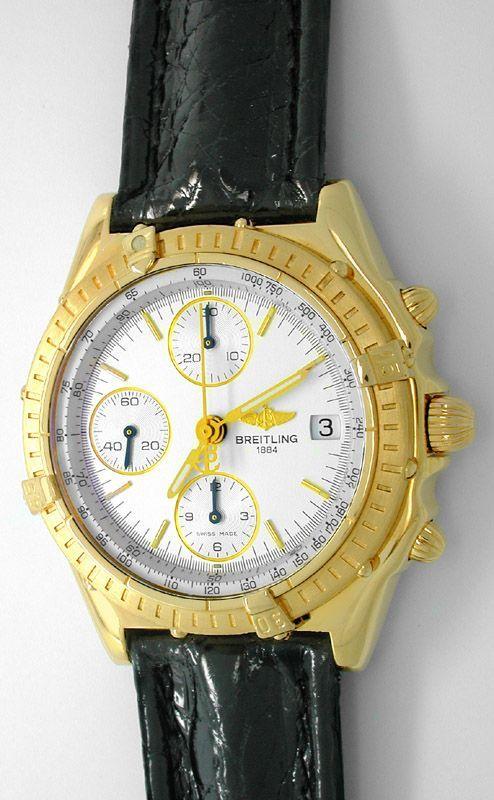 Foto 1, Breitling Chronomat Gold Limitiert Shop! Neuz Portofrei, U1808