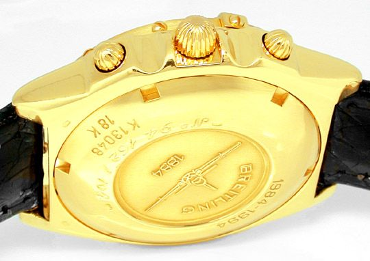 Foto 3, Breitling Chronomat Gold Limitiert Shop! Neuz Portofrei, U1808