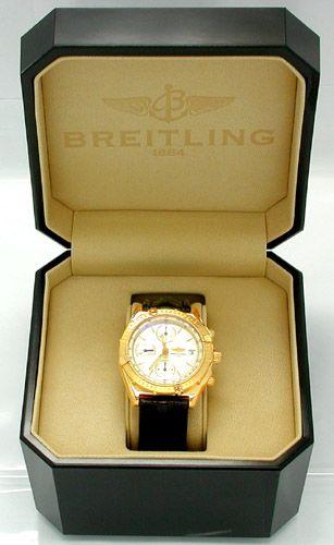 Foto 4, Breitling Chronomat Gold Limitiert Shop! Neuz Portofrei, U1808