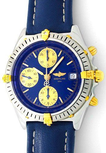 Foto 1, Orig. Hr Breitling Chronomat St/G Automatik Chronograph, U1811