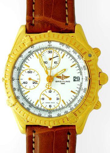 Foto 1, Orig.Hr-Breitling-Chronomat Gold Topuhr Neuz. Portofrei, U1816