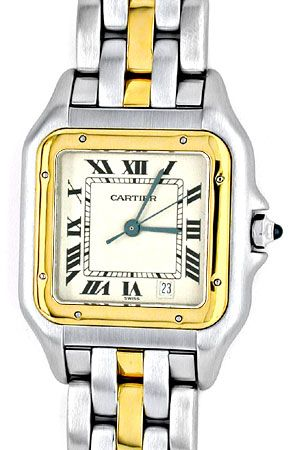 Foto 1, Orig.Cartier Panthere Stahlgold Herren Uhr Topuhr Neuz., U1817