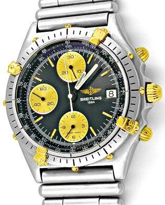 Foto 1, Orig.Hr-Breitling-Chronomat St/G Topuhr Neuz. Portofrei, U1823