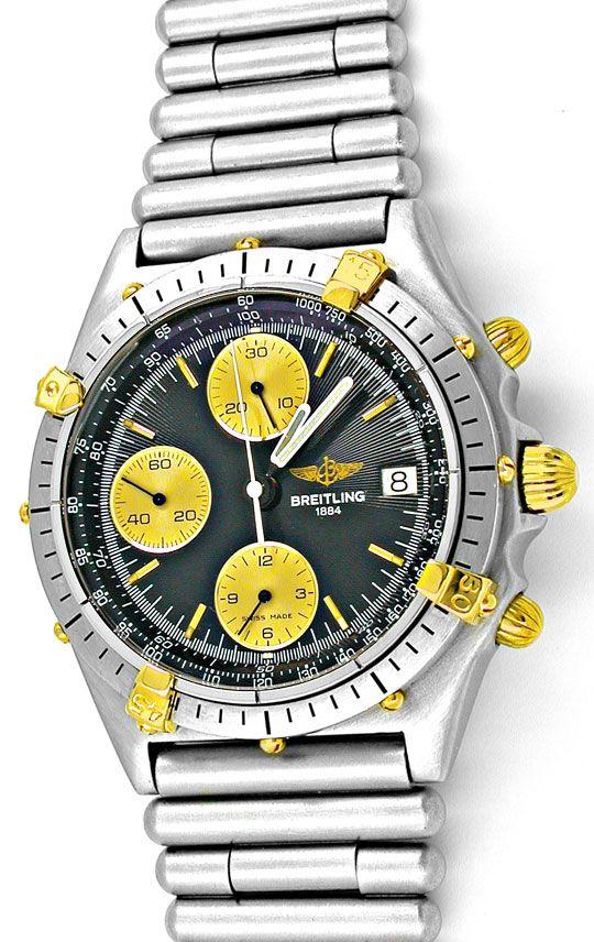 Foto 2, Orig.Hr-Breitling-Chronomat St/G Topuhr Neuz. Portofrei, U1823