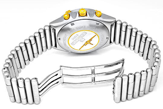 Foto 3, Orig.Hr Breitling Chronomat St/G Topuhr Neuz. Portofrei, U1823