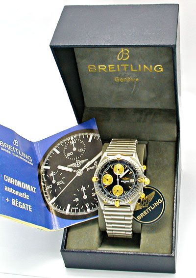 Foto 5, Orig.Hr Breitling Chronomat St/G Topuhr Neuz. Portofrei, U1823