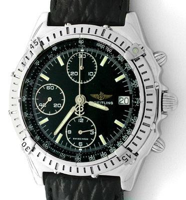 Foto 1, Orig.Hr-Breitling-Chronomat Topuhr Neuzustand Portofrei, U1831