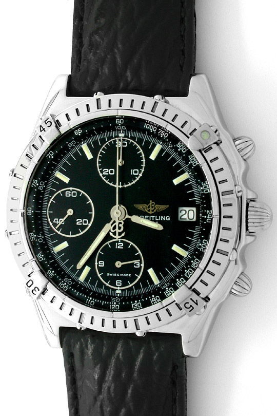 Foto 2, Orig.Hr-Breitling-Chronomat Topuhr Neuzustand Portofrei, U1831