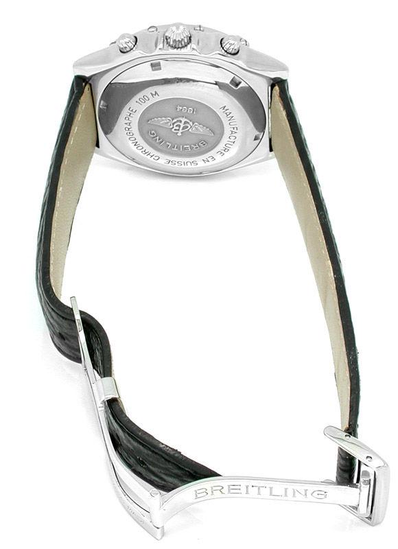 Foto 3, Orig.Hr-Breitling-Chronomat Topuhr Neuzustand Portofrei, U1831