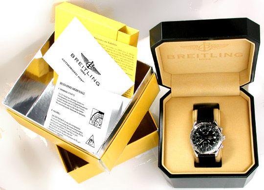 Foto 4, Orig.Hr Breitling Chronomat Topuhr Neuzustand Portofrei, U1831