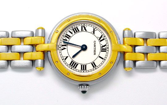 Foto 1, Orig.Cartier Panthere Stahlgold Damen-Uhr Topuhr Neuw.!, U1832