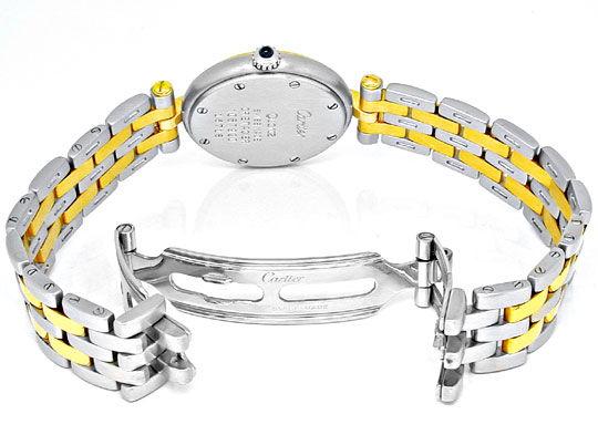 Foto 3, Orig.Cartier Panthere Stahlgold Damen-Uhr Topuhr Neuw.!, U1832