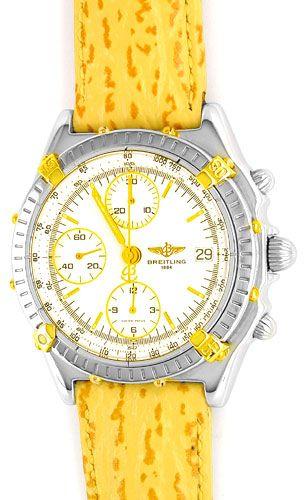 Foto 1, Orig. Hr Breitling Chronomat St/G Shop! Neuz. Portofrei, U1833