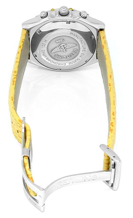 Foto 3, Orig. Hr Breitling Chronomat St/G Shop! Neuz. Portofrei, U1833