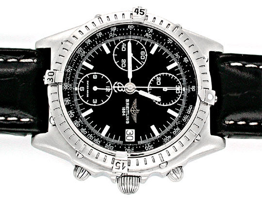 Foto 1, Orig.Hr Breitling Chronomat ST Shop! Neuzust. Portofrei, U1839