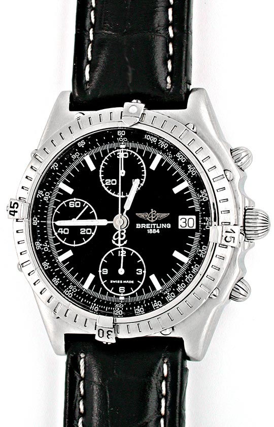 Foto 2, Orig.Hr Breitling Chronomat ST Shop! Neuzust. Portofrei, U1839