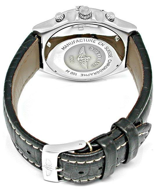 Foto 3, Orig.Hr Breitling Chronomat ST Shop! Neuzust. Portofrei, U1839