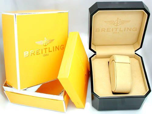 Foto 3, Hr-Breitling-Chronomat Gold Shop! Neuzustand! Portofrei, U1845