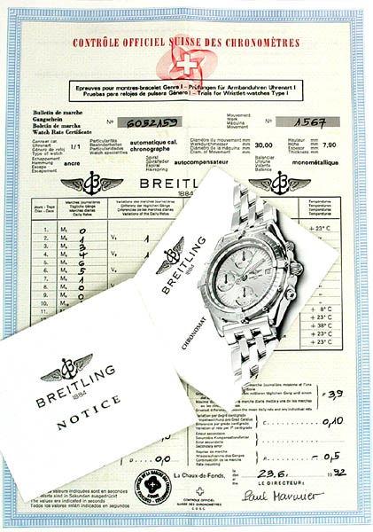 Foto 5, Hr Breitling Chronomat Gold Shop! Neuzustand! Portofrei, U1845